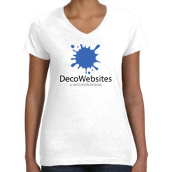 Deco Ladies Perfect V-Neck T-Shirt Thumbnail