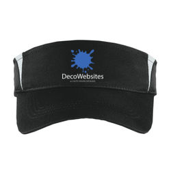 Deco Dry Zone ® Colorblock Visor Thumbnail